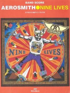 AEROSMITH - NINE LIVES(BAND SCORE)