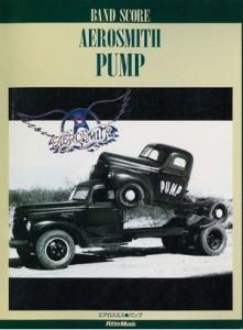 AEROSMITH - PUMP(BAND SCORE)