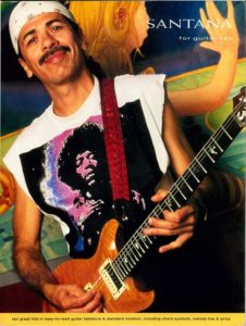 SANTANA for guitar tab