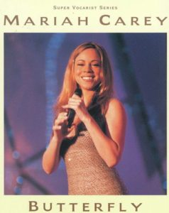 ピアノボーカルシリーズ マライア・キャリー/バタフライ(MARIAH CAREY - BUTTERFLY)