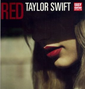 TAYLOR SWIFT - RED - Easy Guitar with Notes & Tab
