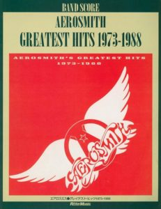 AEROSMITH - GREATEST HITS 1973-1988(BAND SCORE)