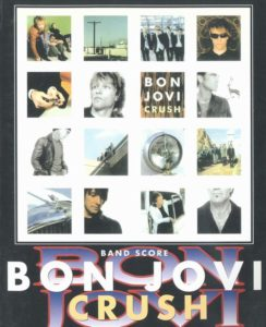 BON JOVI - CRUSH(BAND SCORE)