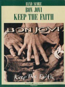 BON JOVI - KEEP THE FAITH(BAND SCORE)
