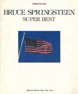 BRUCE SPRINGSTEEN - SUPER BEST(BAND SCORE)