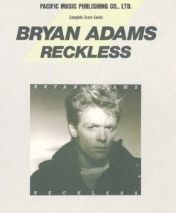 BRYAN ADAMS - RECKLESS(BAND SCORE)