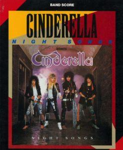 CINDERELLA - NIGHT SONGS(BAND SCORE)